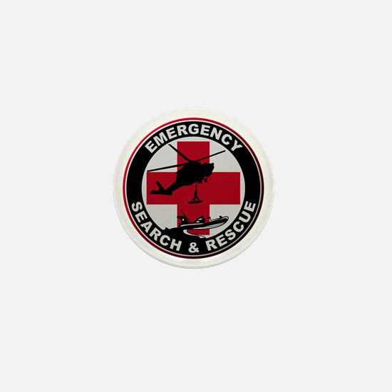 Emergency Rescue Mini Button