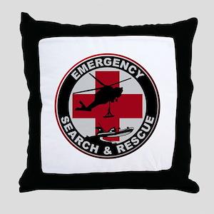 Emergency Rescue Throw Pillow