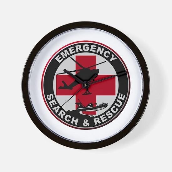Emergency Rescue Wall Clock