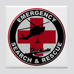 Emergency Rescue Tile Coaster