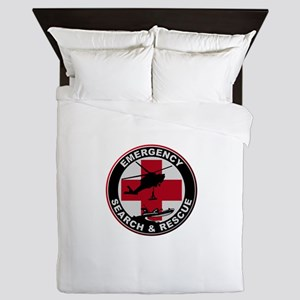 Emergency Rescue Queen Duvet