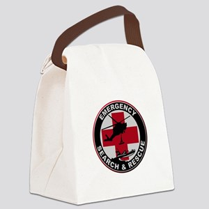 Emergency Rescue Canvas Lunch Bag