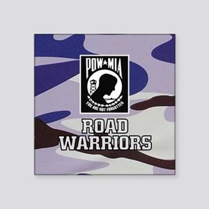 Road Warriors POW-MIA Sticker