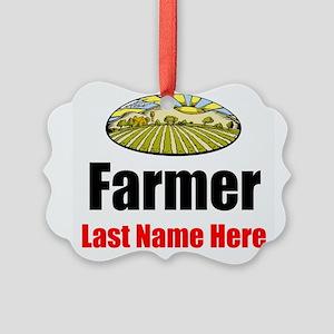 Farmer Ornament