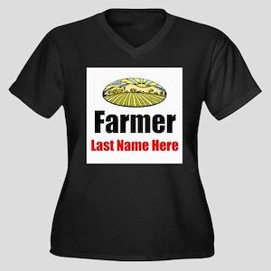 Farmer Plus Size T-Shirt