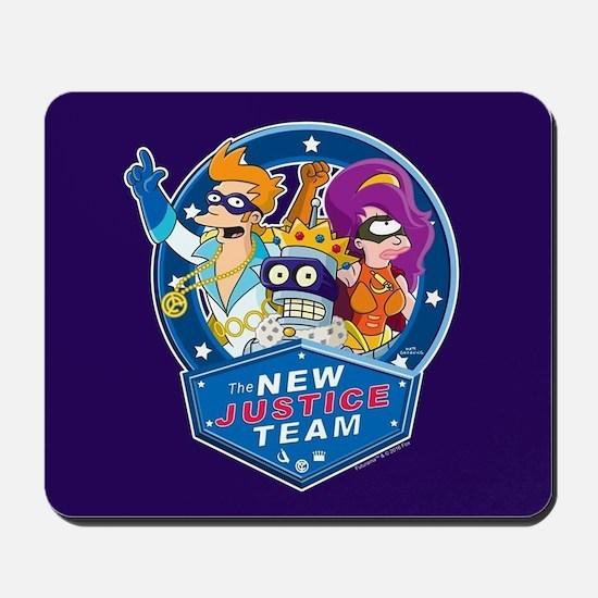 Futurama New Justice Team Mousepad