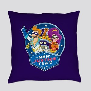 Futurama New Justice Team Everyday Pillow