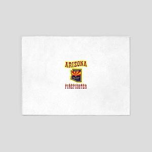 Arizona Firefighter 5'x7'Area Rug