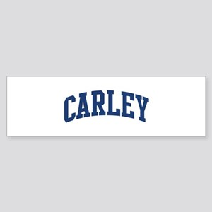 CARLEY design (blue) Bumper Sticker