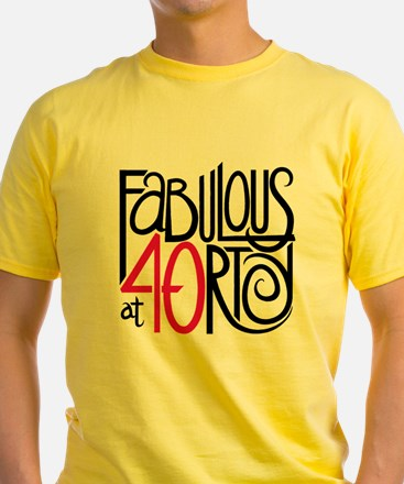 Fabulous at 40rty! T