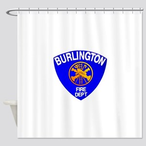 Burlington Fire Department Shower Curtain