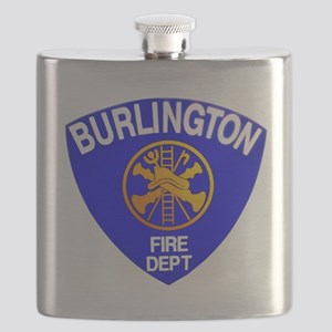 Burlington Fire Department Flask