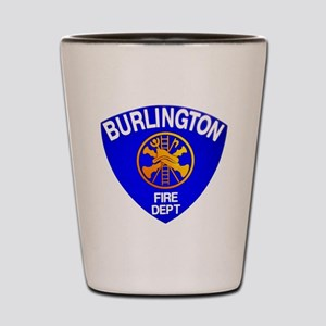 Burlington Fire Department Shot Glass