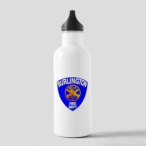 Burlington Fire Depart Stainless Water Bottle 1.0L