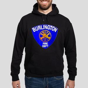 Burlington Fire Department Hoodie (dark)