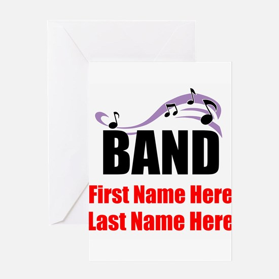 Band Greeting Cards