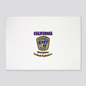 California EMT 5'x7'Area Rug