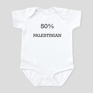 50% Palestinian Infant Bodysuit