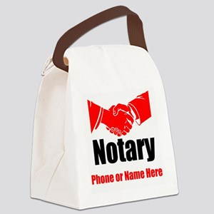Notary Canvas Lunch Bag