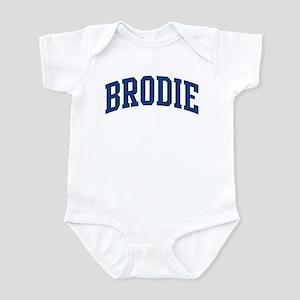 BRODIE design (blue) Infant Bodysuit