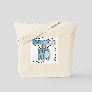 Blue Honeymoon NYC Tote Bag