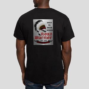 Born To Roam Road Warr Men's Fitted T-Shirt (dark)