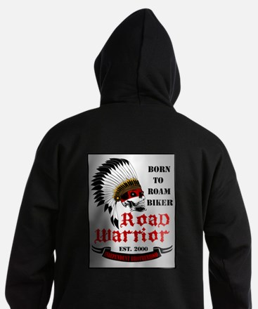 Born To Roam Road Warrior Hoodie (dark)