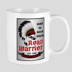 Born To Roam Road Warrior Mug