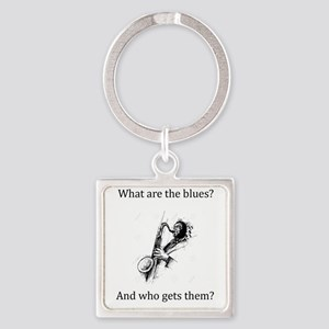What are the blues and who gets them? Keychains