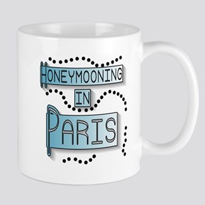 Blue Honeymoon Paris Mug