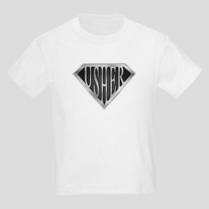 SuperUsher(metal) Kids Light T-Shirt