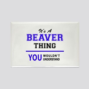 It's BEAVER thing, you wouldn't understand Magnets