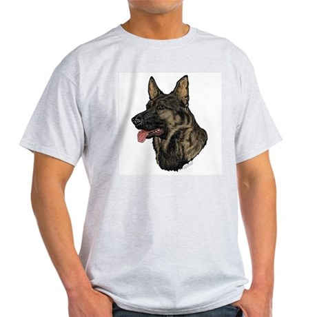 German Shepherd K9 Hunting Dog Men T-Shirt Dog Graphic Tee aI5pZSpO