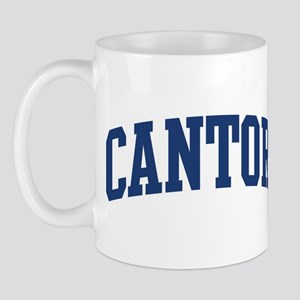 CANTOR design (blue) Mug