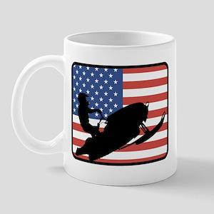 American Snowmobiling Mug