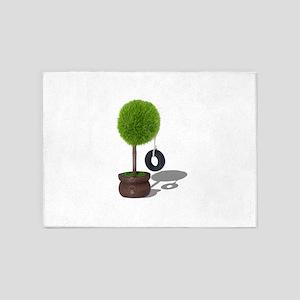 TreeSwing081510 5'x7'Area Rug