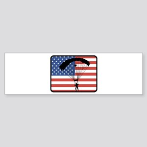 American Skydiving Bumper Sticker