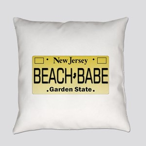 Beach Babe NJ Tag Giftware Everyday Pillow