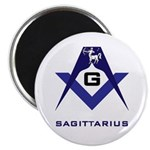 Masonic Sagittarius Sign Magnet