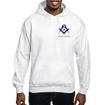 Masonic Sagittarius Sign Hooded Sweatshirt