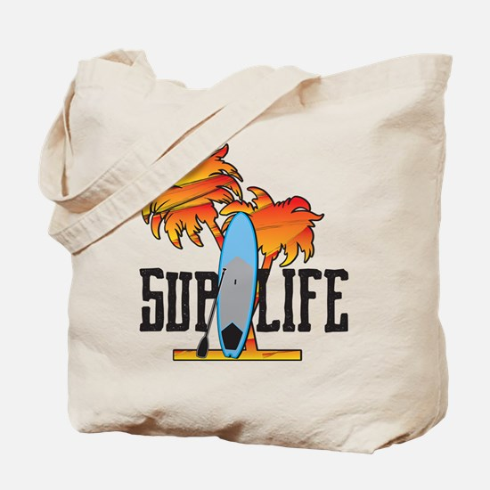 Cute Surfing florida Tote Bag