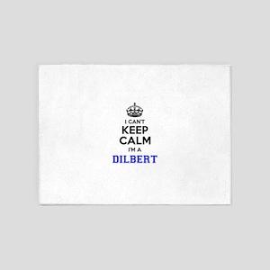 DILBERT I cant keeep calm 5'x7'Area Rug