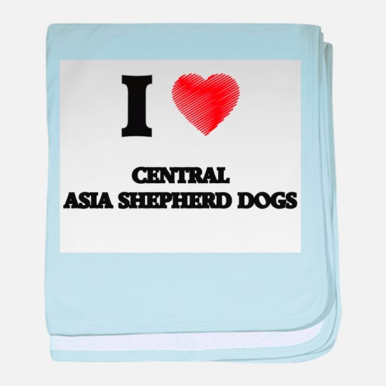 I love Central Asia Shepherd Dogs baby blanket
