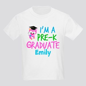 Pre-K Grad Girls Kids Light T-Shirt