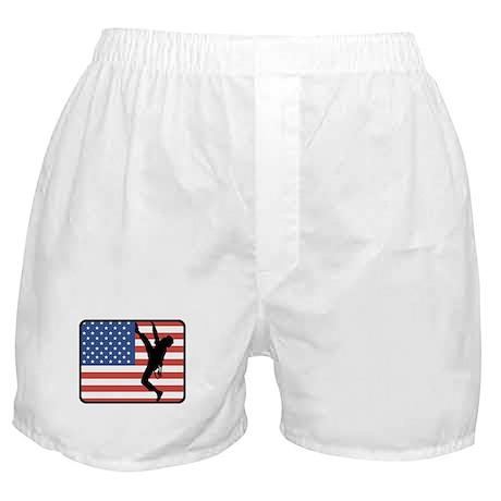 American Rock Climbing Boxer Shorts