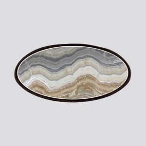 Chic neutral marble swirls Patch