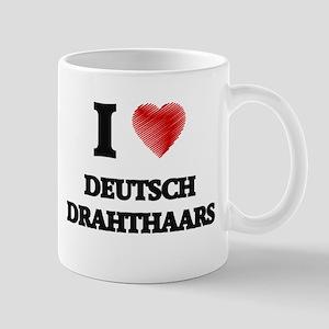 I love Deutsch Drahthaars Mugs