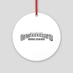 Queens Blvd Jersey Style Ornament (Round)