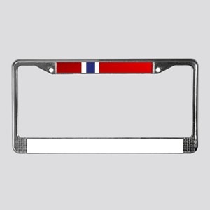 Simply Norwegian License Plate Frame