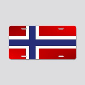 Simply Norwegian Aluminum License Plate